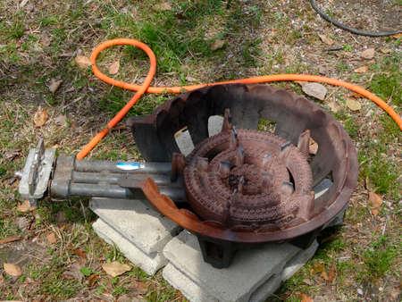 firepower: Gas stove of high firepower