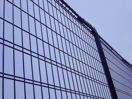 Metal fence 写真素材