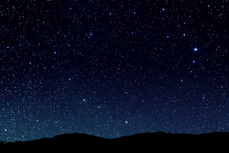 night sky: Bầu trời đầy sao