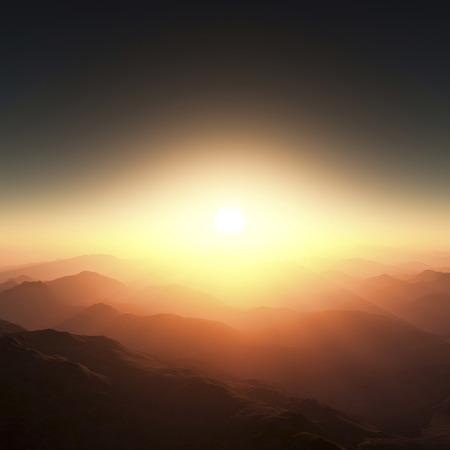 amanecer: Sunrise Foto de archivo
