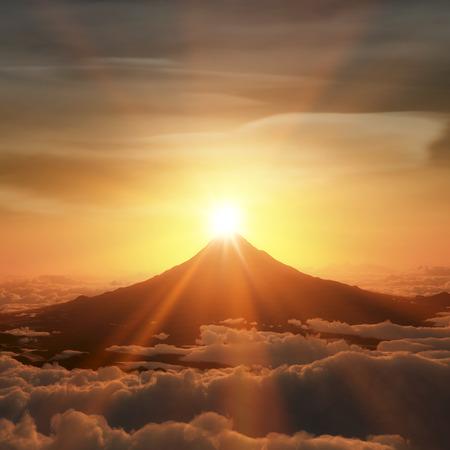 radiate: Diamond Fuji