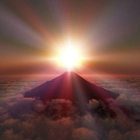 dawning: Mt. Fuji