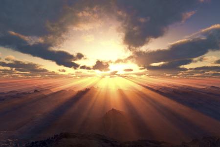 Sunrise Reklamní fotografie