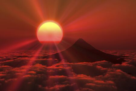 solemnity: Mt. Fuji