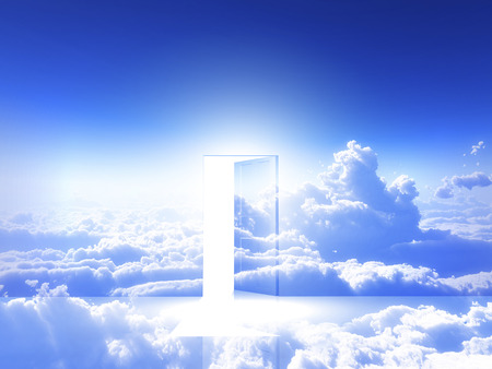 ドアは光源します。