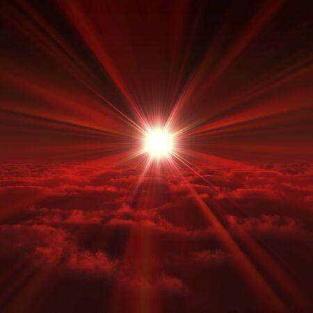 solemnity: Sunrise Stock Photo