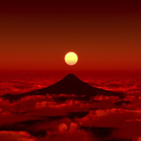 Monte Fuji Foto de archivo
