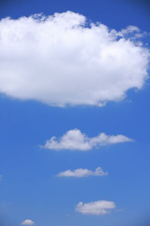 firmament: Blue sky and clouds