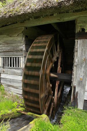 waterwheel: Water mill in Yamaguchi
