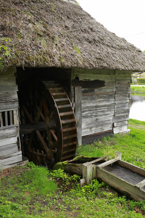 lore: Water mill in Yamaguchi