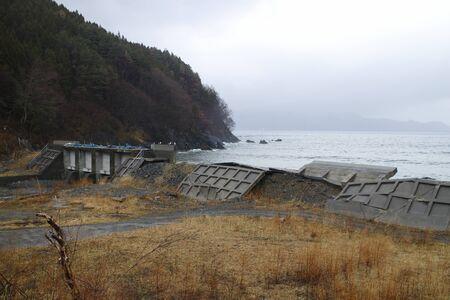tsunami: Sanriku tsunami affected areas Stock Photo