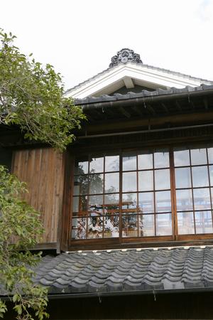 district: Tsuyama joutou town Conservation District Stock Photo