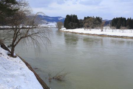 winter scenery: Motoaikai winter scenery