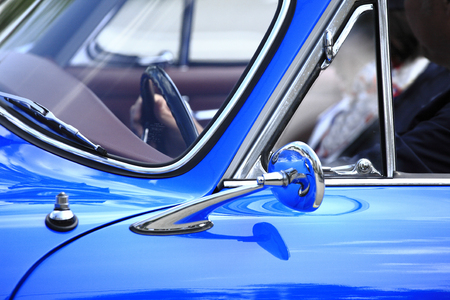 streamlined: Classic car Stock Photo