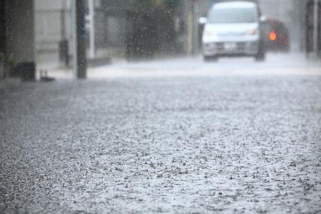 Heavy rains 版權商用圖片