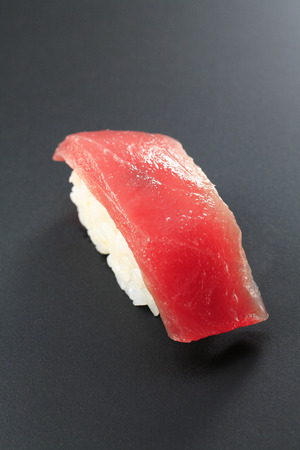 to lean: Sushi tuna lean Stock Photo