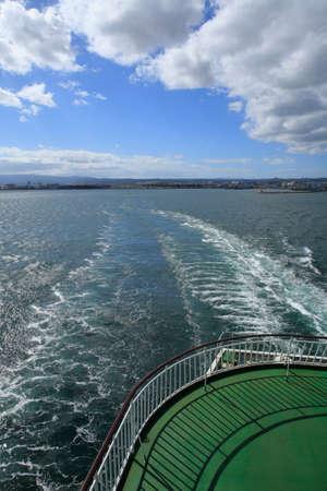 strait: Strait ferry departure