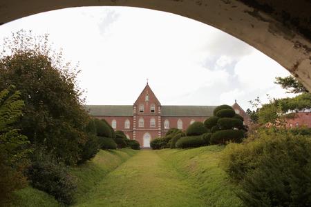 트라 피스트 수도원 스톡 콘텐츠