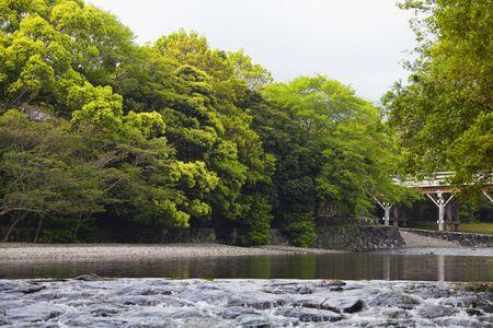 chubu: Isuzu River Stock Photo