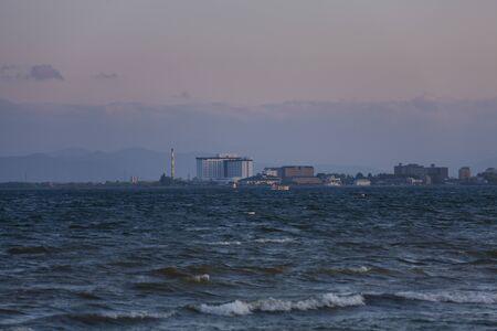 amanecer: Lago Biwa