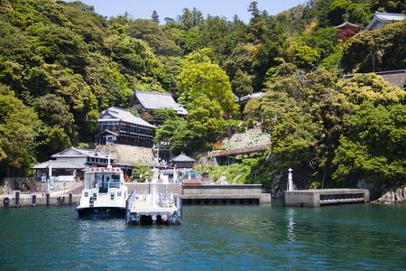 pleasure ship: Chikubushima Port