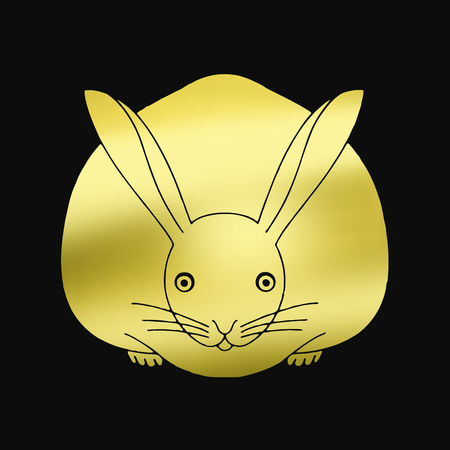 history month: Face-to-face rabbit face-to-face rabbit
