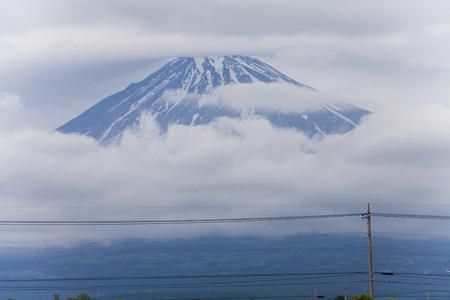 cloudiness: Fuji clouds took Stock Photo