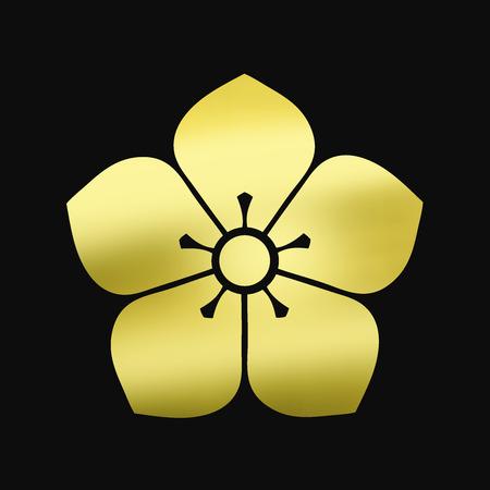 homecoming: Kenko-i bellflower and smell Ken bellflower Stock Photo