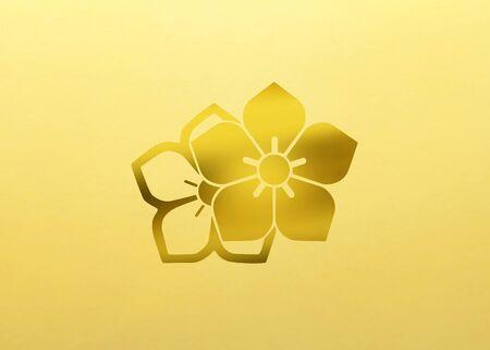 yang style: Yin bellflower Stock Photo