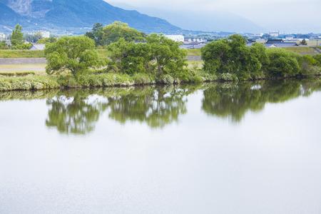 nagara: Nagara River viewed from Nagara Ohashi