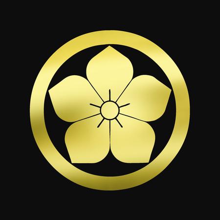 bellflower: Bellflower in a round bellflower in a round