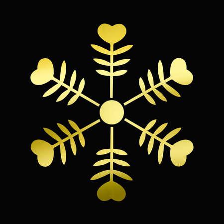 goodwill: Snow Flower Stock Photo