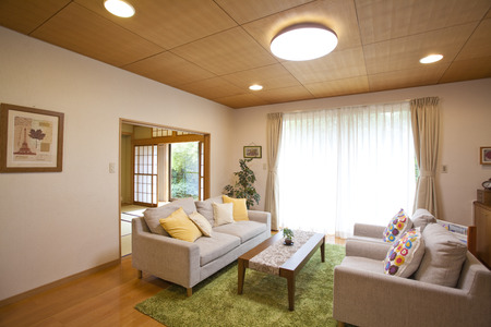 livelihood: Living room Stock Photo