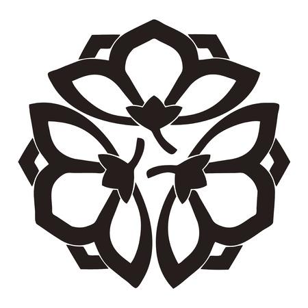 the period: Seven-week mourning period three Yokomi bellflower Chuka-ge Mitsuyo dent bellflower
