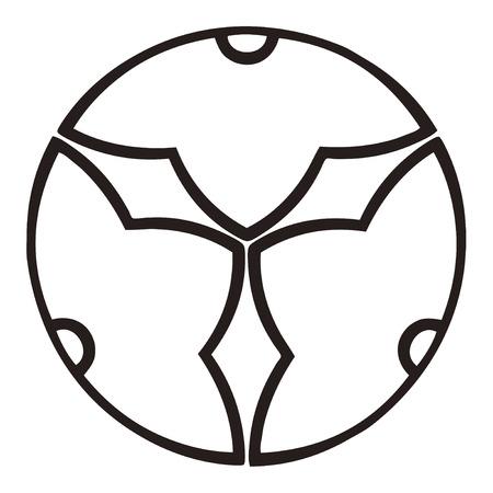 ko: Yin three split Kuchinashi-ko Kagemi morning sickness gardenia