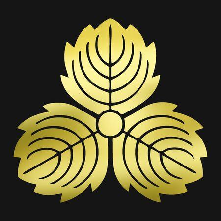goodwill: Oni three Kashiwa tail and honey Kashiwa Stock Photo