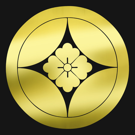omens: Cloisonne flower angle to the round Cloisonne nucleus in circles