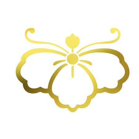 the period: Seven-week mourning period Tung Phalaenopsis Tadashi Kageki Riko butterfly Stock Photo