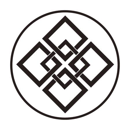 5 つの中で喜んで角度糸ループと KumiKaku のセットします。