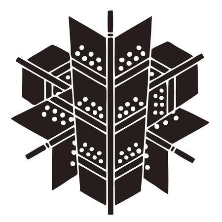 variegated: Variegated three was overlaid arrows variegated Sangbong Kasane Ya
