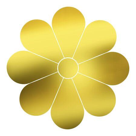 eight: Eight chrysanthemum guy listen Stock Photo