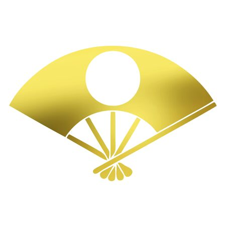 hinomaru: Hinomaru fan Hinomaru Contact Ogi Stock Photo
