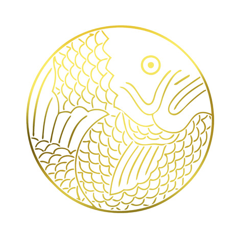 Sea bream round Thailand circle Stock Photo