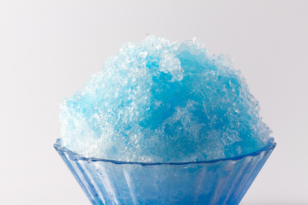 snow cone: Poker ice Stock Photo
