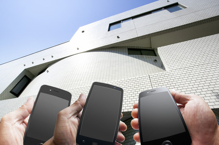 investment real state: Smartphone