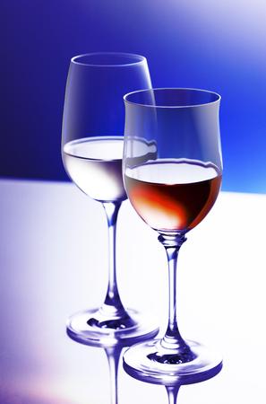 white wine: Red wine and white wine