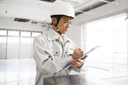 foreman: Site foreman Stock Photo