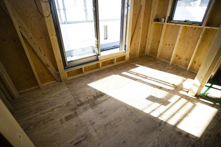 illustrative material: Housing construction site
