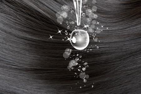 penetracion: La humedad en el cabello
