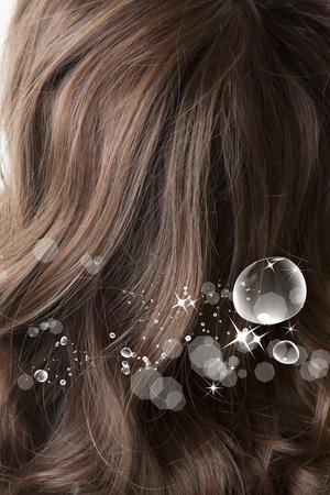 moisture: The moisture in the hair
